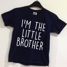 I'M THE LITTLE BROTHER  T-shirt - Age 0-12